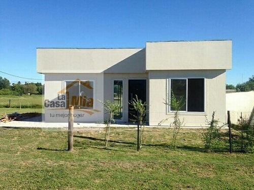 Casa prefabricada de 50 m2 2 dormitorios minimalista la casa m a - Casas minimalistas prefabricadas ...